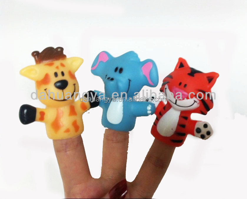 rubber finger puppet for kids