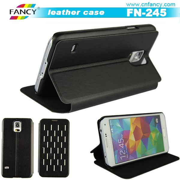 Verizon supplier, phone leather case for samsung galaxy s5