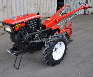 hand push walking tractor with tools