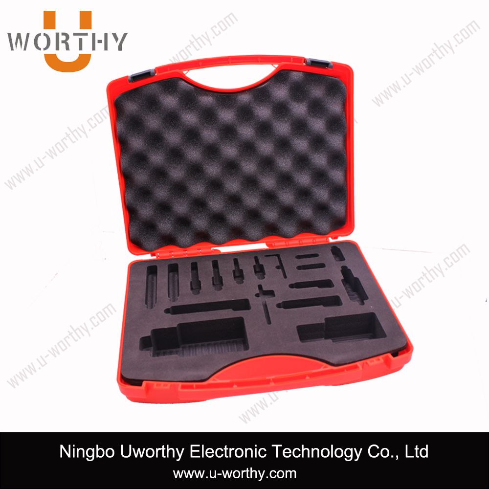 High Quality Plastic Equipment Carrying Case with Padding Foam