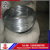Galvanized steel wire SAE1008 SAE1006 iron drawn wire rods via Tianjin port
