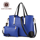 CB002 Africa big shoulder handbag with small clutch bags 2pcs in 1 set