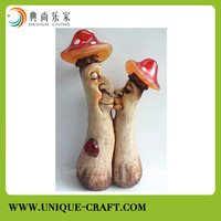 Man shape resin handicraft with LED light for home decors