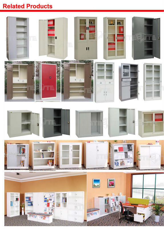 Tall Cube KD Structure Waterproof Steel Flat Storage Cabinet Office  Furniture High Level Senior Filing Cabinet