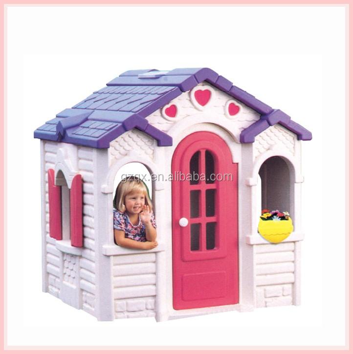 Sehr Lustige Spiel Großhandel Kinder Kunststoff Spielhaus Zum Verkauf XG26