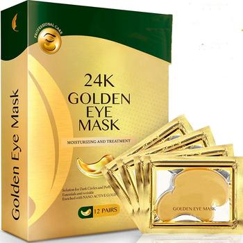 Hyaluronic Acid Crystal Eye Patch 24k Gold Collagen Eye Mask