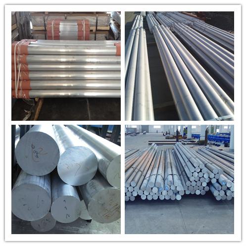 Paduan Aluminium Bulat Bar 1050 1060 1070 1100