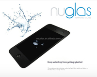 Brand Nuglas for apple ipod touch 6 Tempered glass screen protector / screen guard / protective film