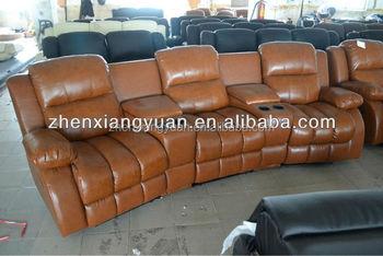 Luxury Home Leather Theater Sofa Cinema