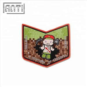 Cute Funny Cartoon Game Clothing Shirt Applique Iron patch