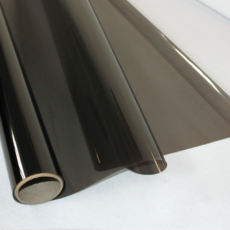Electroplated interlayer building safety solar window film