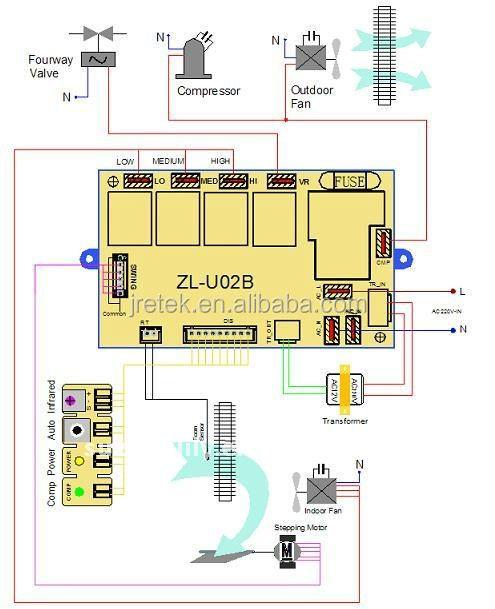 Universal Type Air Conditioning Control Panel Qd U03a
