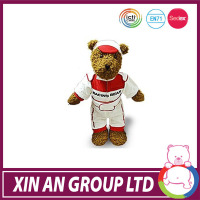 promotion gift oem customed teddy bear outfits
