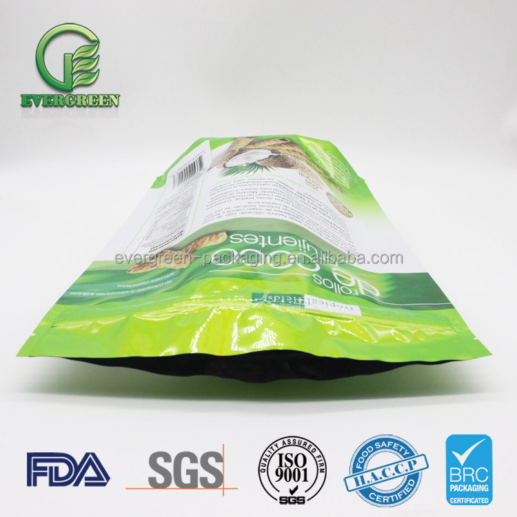 Dried fruit pe zipper bag for dry fruit packing