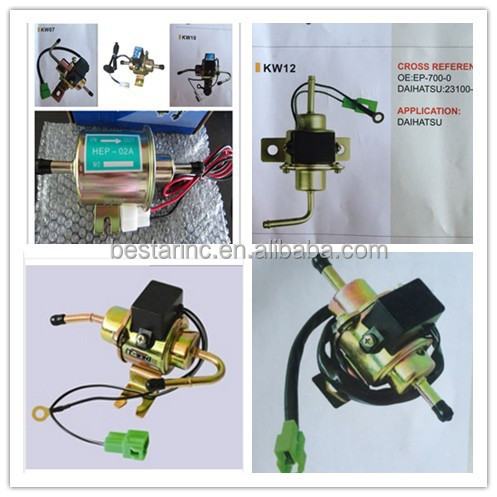Low price low pressure electronic fuel pump 056200-0540 / 23100-87511-000 used for DAIHATSU
