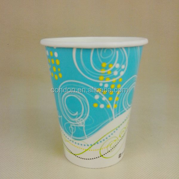 disposable paper cups waxed
