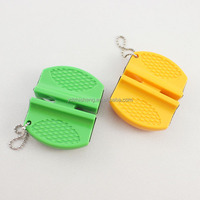 Mini Knife sharpener with keychain
