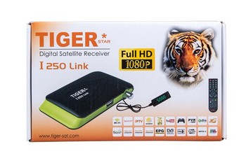 Tiger I250 LINK Digital Satellite Receiver Remote Control