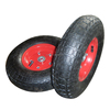 13 inch Top Quality agriculture wheelbarrow pneumatic rubber wheel 4.00-6