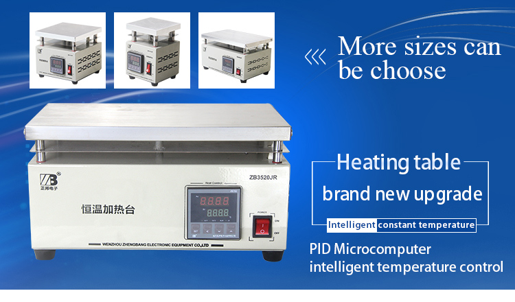 Multifunctionele Digitale Display Thermostaat Platform Verwarming Plaat Verwarm Station/Infrarood Verwarming Plaat