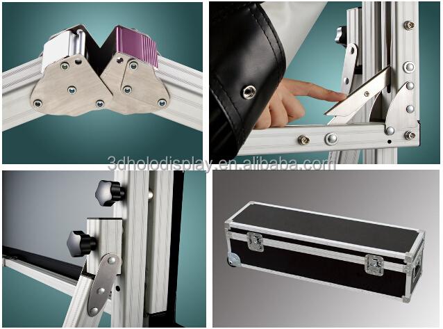 4:3 100 Inch Projector Screen/Quick Folding Screen/Portable Fast Fold Screen
