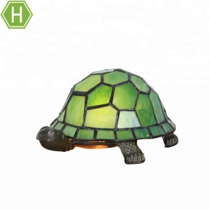 Hot selling magic gift tiffany blue turtle animal kids baby night light lamp