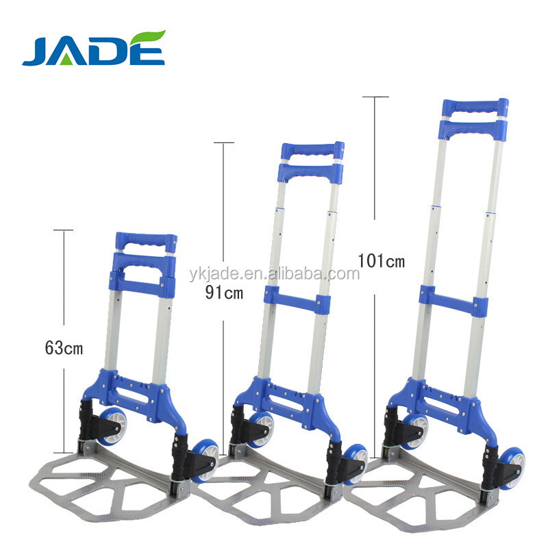 High quality two wheels hand truck,heavy duty folding hand truck/luggage trolley/luggage cart,cheap garden trolley
