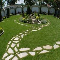 30mm Landscape Artificial Natural Grass Mats for Garden Dogs