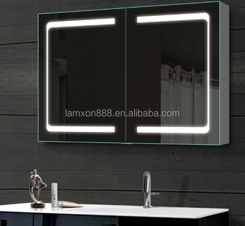 High end usa style bathroom mirrored medicine cabinets with lighting led buy mirrored medicine - High end medicine cabinets with mirrors ...