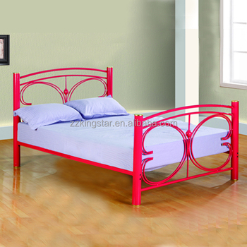Cheap Iron Double Bed Designs Full Size Metal Bed Frames Wholesale