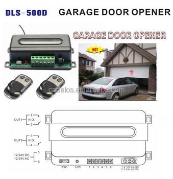 Dalos Dls 500d Residential Garage Door Opener Garage Door