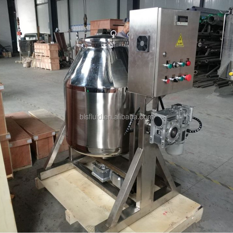 hot sale stainless steel 300Liter rotating drum mixer machine for black tea