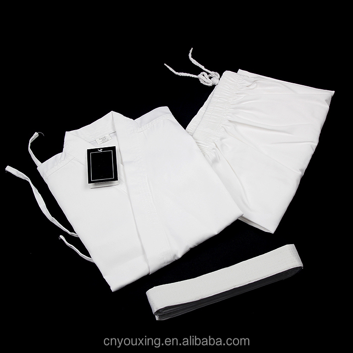 White karate uniform for kids karate clothing martial arts
