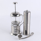 Custom Stainless Steel commercial coffee grinder sets