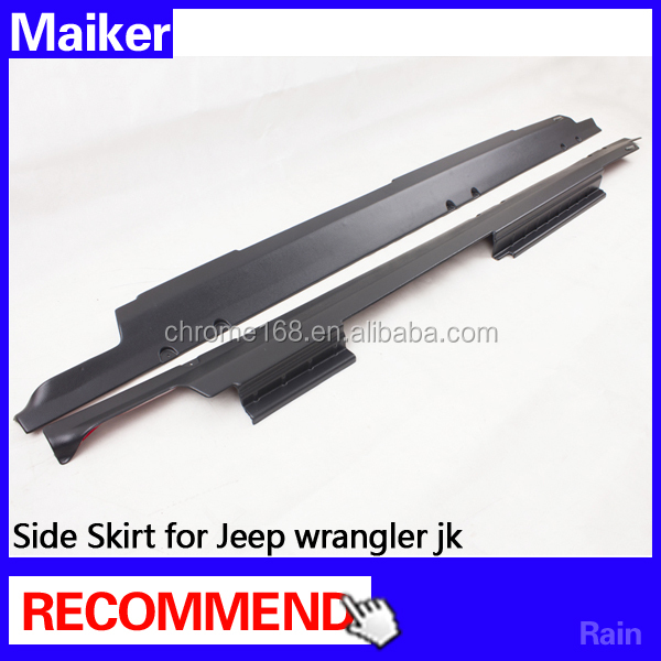 side skirts auto accessories for jeep wrangler 4 doors/2 Doors from maiker