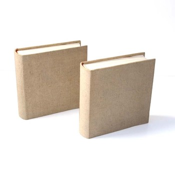 Hand Made Fabric Cloth Linen Cover Photo 4''x6'' 100 Book Album  Folio