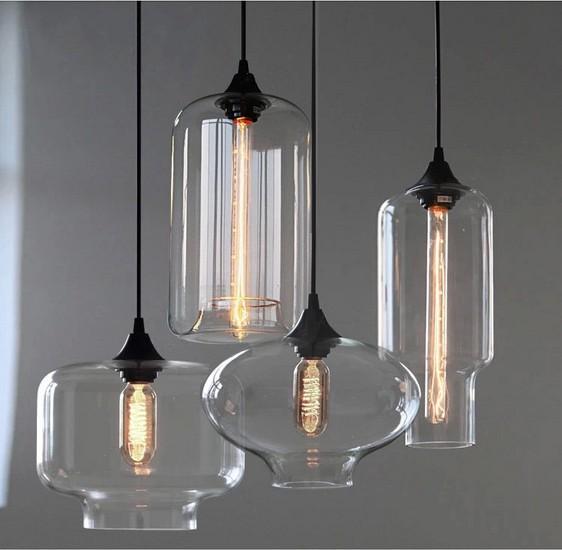 Modern Blown Glass Pendant Lighting,Hand Blown Glass Pendant ...