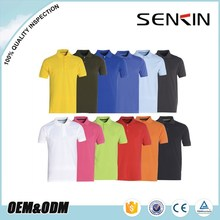 Short Sleeve Cotton Pique tshirt Custom Mens Branded Polo T Shirts