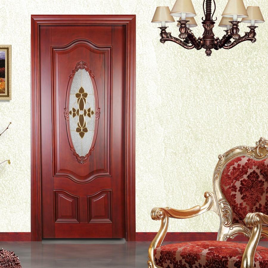 Precio al por mayor oval decorativo puerta de entrada de vidrio fabrica puertas identificaci n - Puertas de entrada precios ...