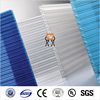 Solar transparent 6mm thick polycarbonate hollow roof panel
