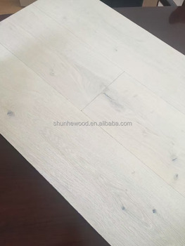 Wide Plank White Style Rustic Oak Engineered Wood Flooring