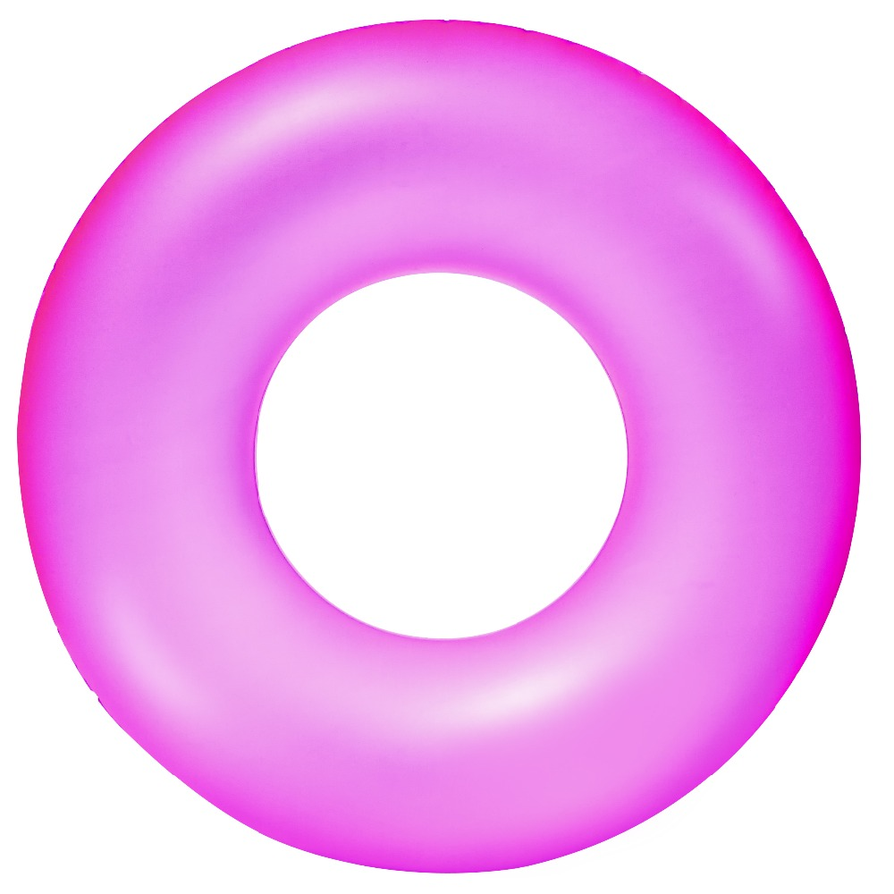 Hot sale Bestway 36024 kids size Neon Frost pool float tube inflatable swim ring 76cm dia