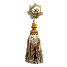 Colorful wholesale decorative wooden tassels for curtains