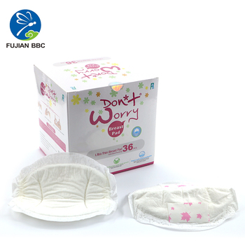 low price breast pad/disposable breast pad/high absorbent breast pad