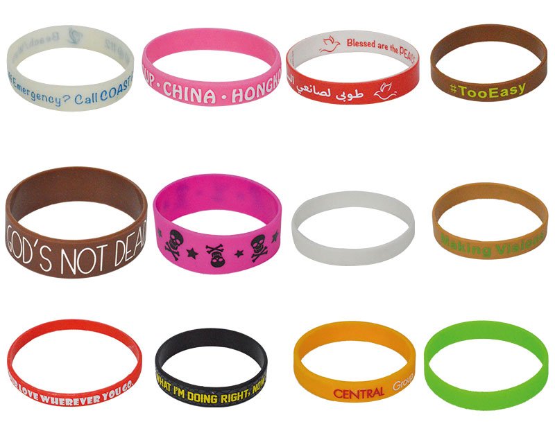 Silicone Election Bangles Wristband Manufacturer For Election's