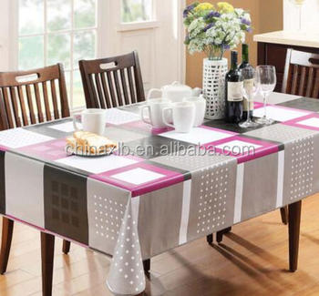 Custom Plastic Table Cover Party Dining Table Cover Tabel Cloth