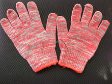 cotton gloves with high quality thin plastic hand lace gloves, touch screen working gloves