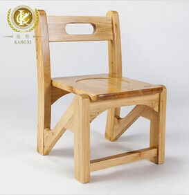 Small Wooden Children Cartoon Stool Safety Baby Chair