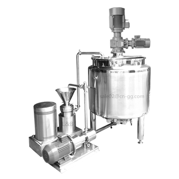 Hot sale Customized mayonnaise making machine/mayonnaise emulsifying mixer machine