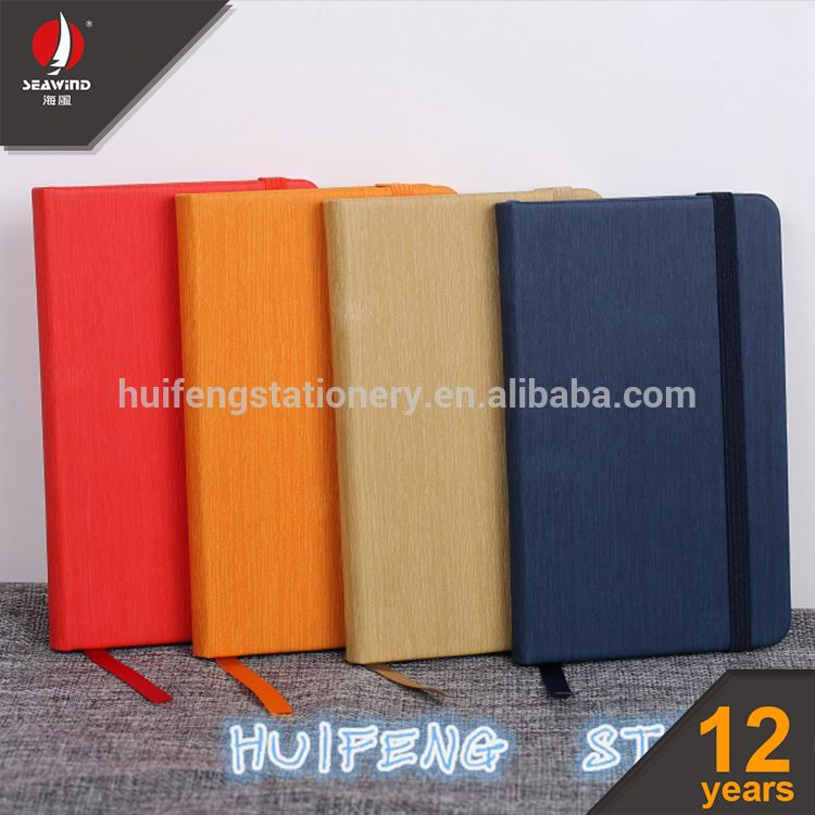 wooden PU leather hard cover notebook filofax organizer